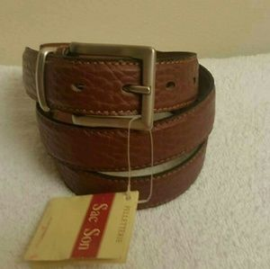 NWT real leather belt made in Italy by Vera Pelle